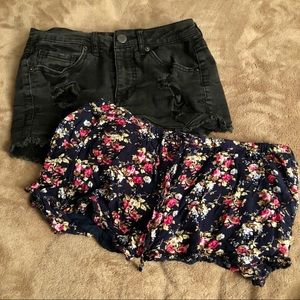 SALE ‼️7 items for $25‼️ 2pc Bundle Forever 21 & Aeropostale Shorts